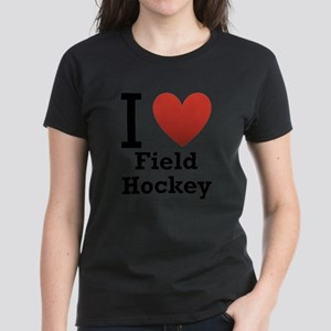 I Love Field Hockey T-Shirt